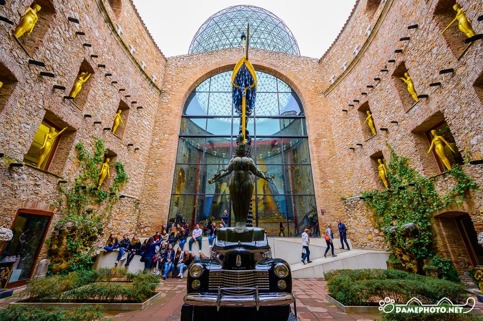 スペイン旅行記 その12】ダリ劇場美術館 フィゲラス Teatro-Museo Dali Figueres | DAME-PHOTO.NET